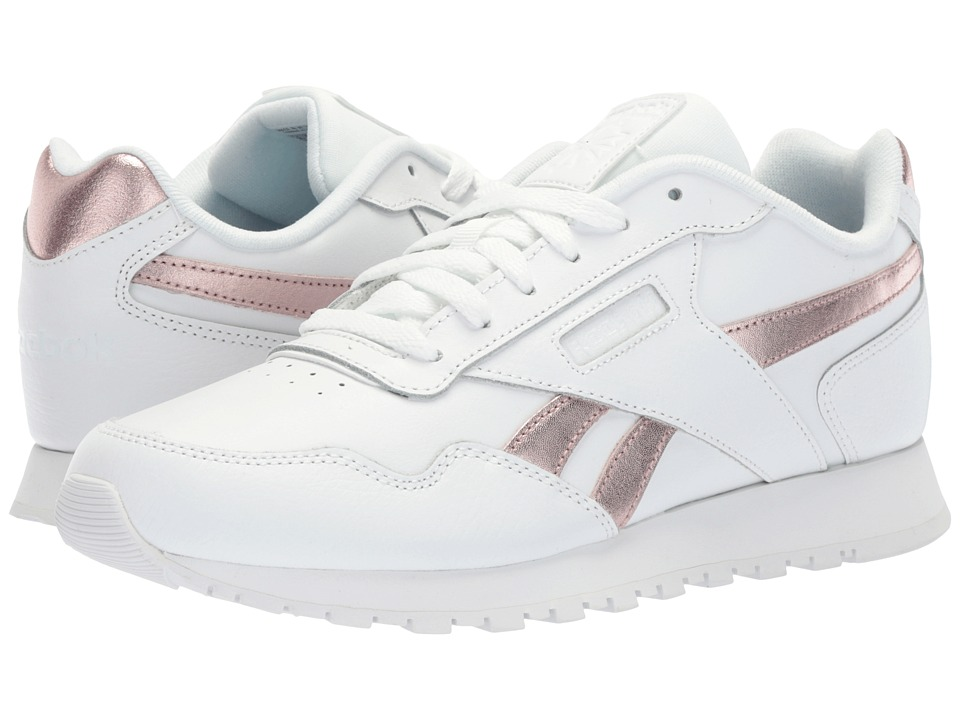 Reebok Classic Harman Run (White/Rose Gold) Women