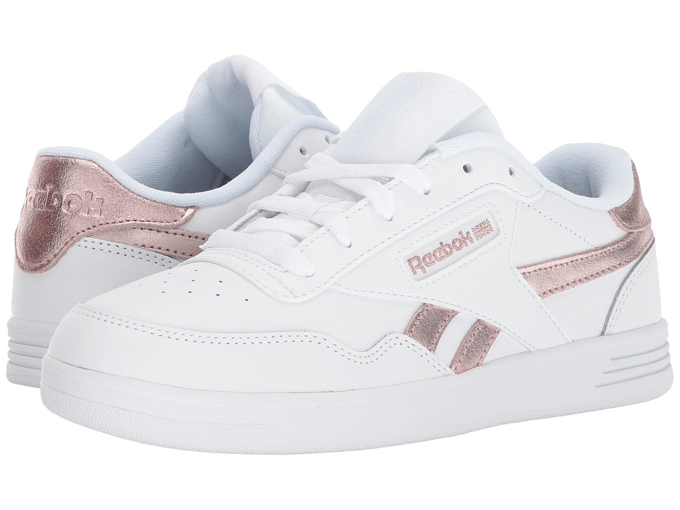 Reebok Club Memt (White/Rose Gold) Women