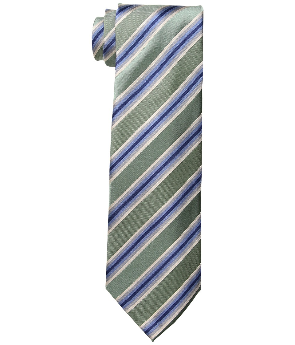 Kenneth Cole Reaction - Tony Stripe (Celery) Ties