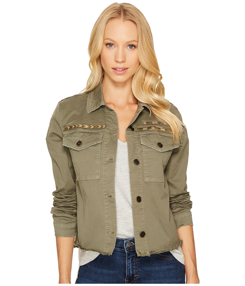 Joe's Jeans - Military Crop Jacket (Cubana) Women's Coat