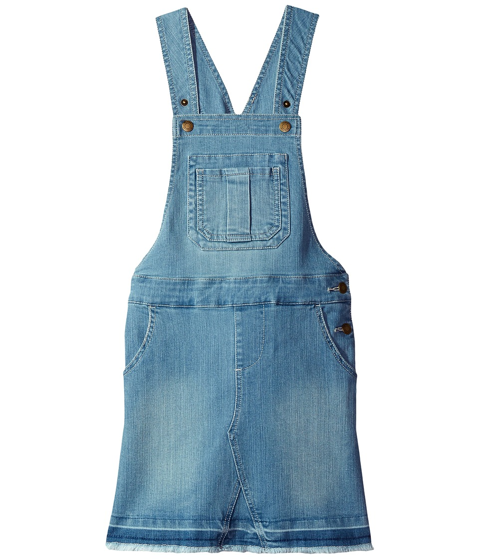 Tommy Hilfiger Kids - Overall Jumper Dress (Big Kids) (Pale Blue) Girl's Dress