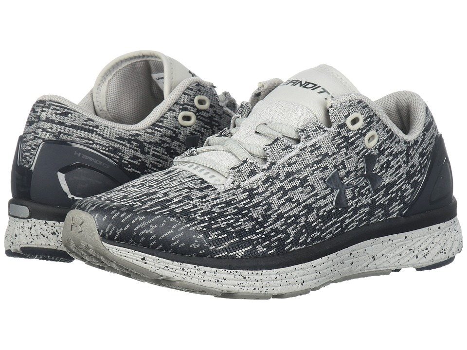 Under Armour Kids UA GGS Charged Bandit 3 Ombre (Big Kid) (Anthracite/Ghost Gray/Metallic Iron) Girls Shoes