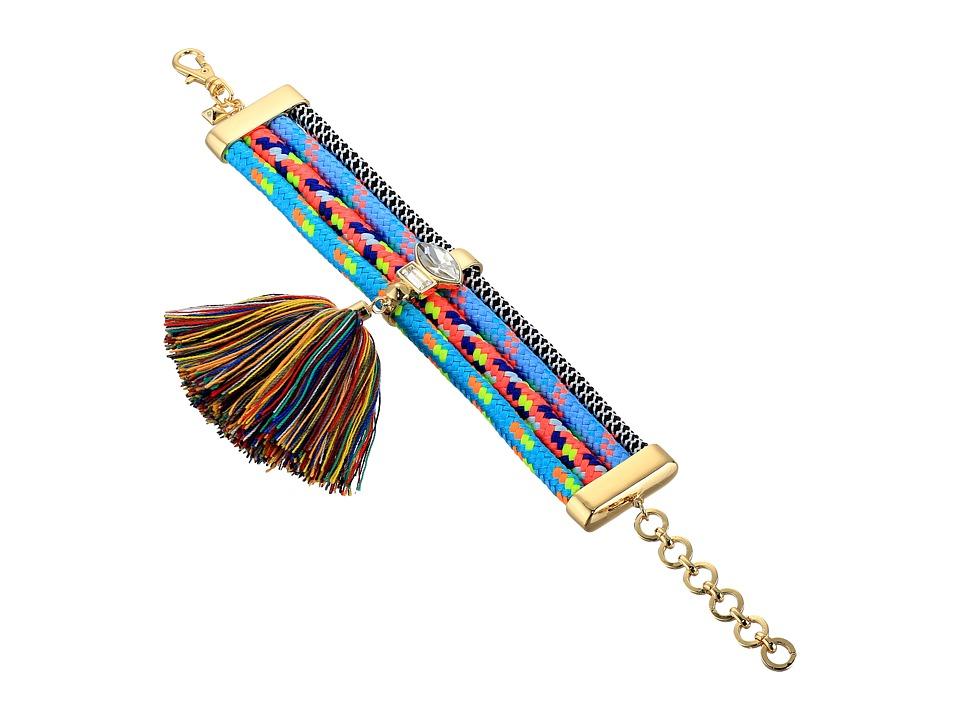 Rebecca Minkoff - Climbing Rope Tassel Bracelet (Multi) Bracelet