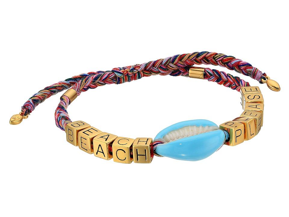 Rebecca Minkoff - Lola Rope Bracelet with Tassel (Neutral Multi) Bracelet
