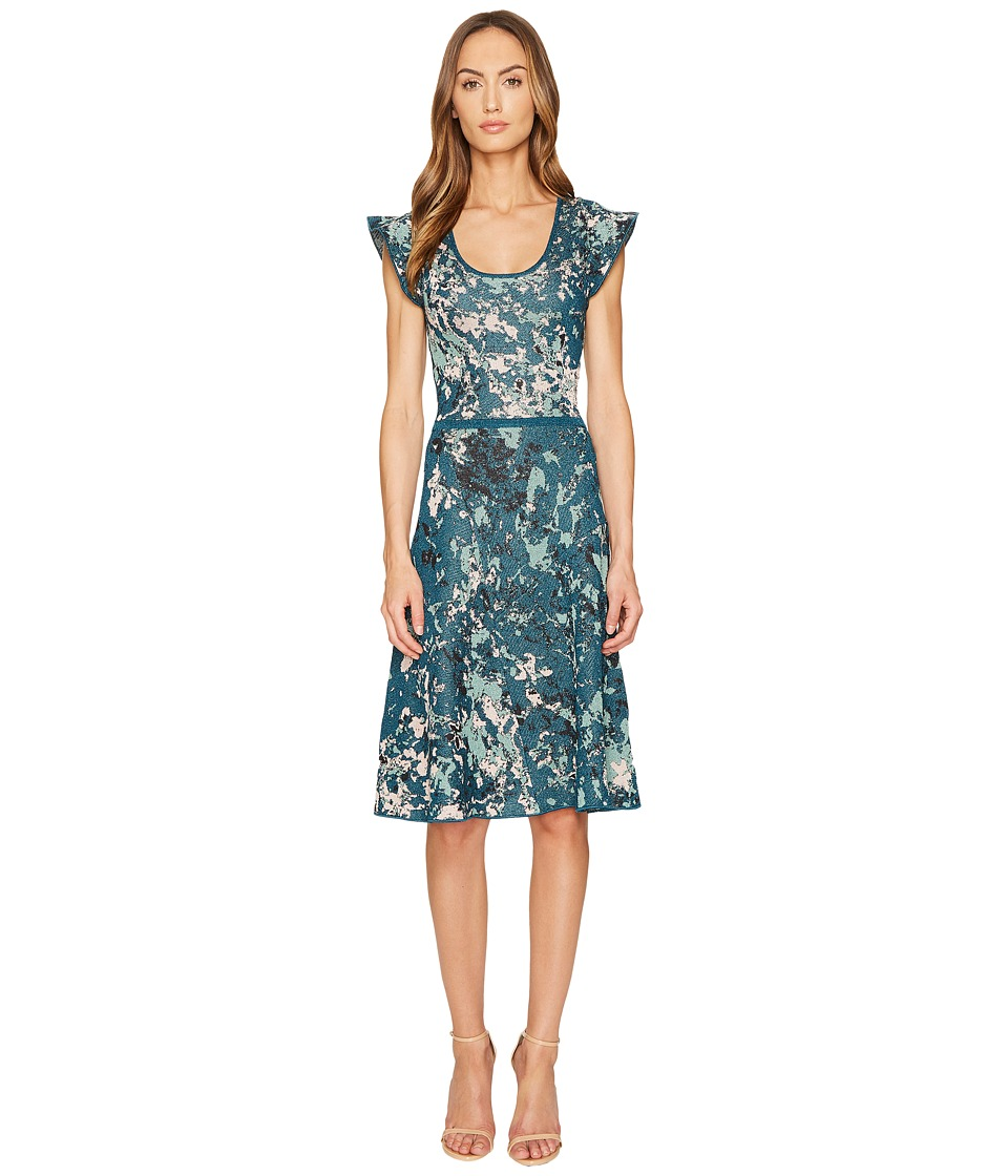 M Missoni Petal Jacquard Dress