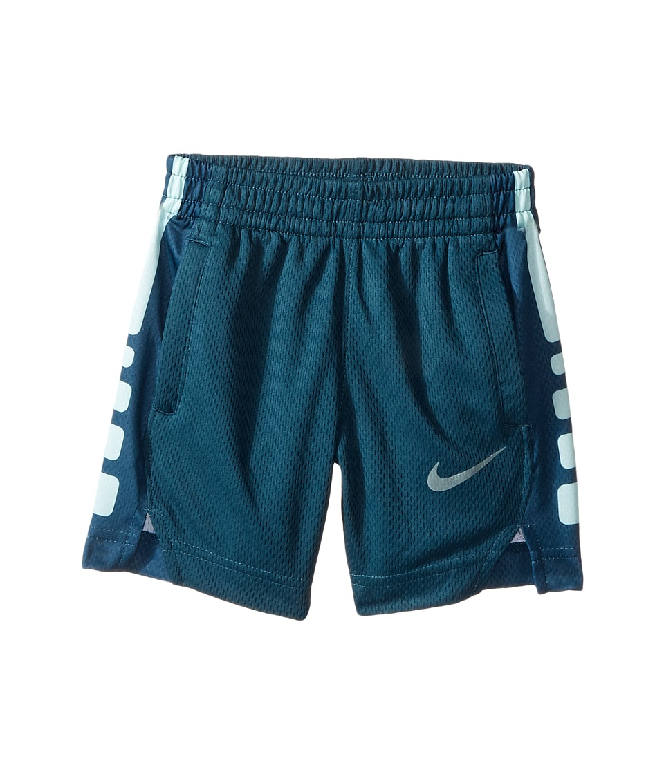 Nike Kids - Elite Stripe Shorts (Toddler) (Space Blue) Boy's Shorts
