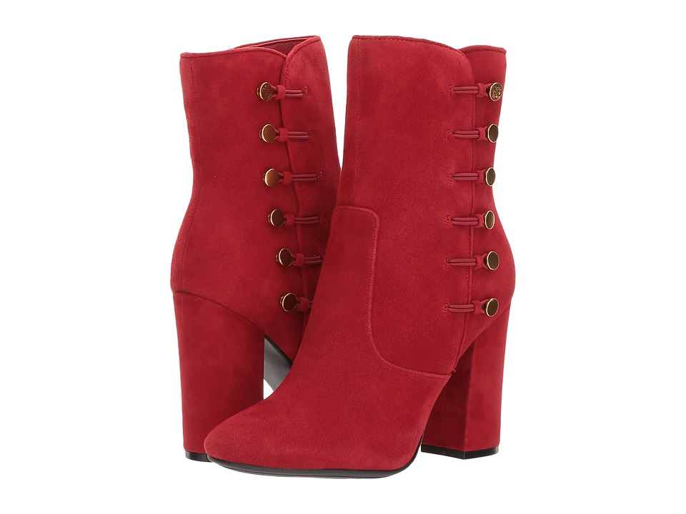GUESS Lucena (Red Suede) Women