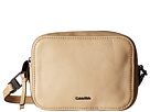Calvin Klein Calvin Klein - Erica Pebble Leather Camera Crossbody Bag