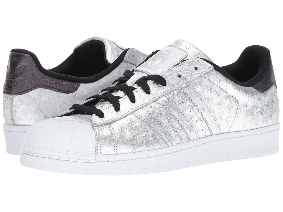 adidas Originals - Superstar (Silver/Silver/White) Men's Classic Shoes