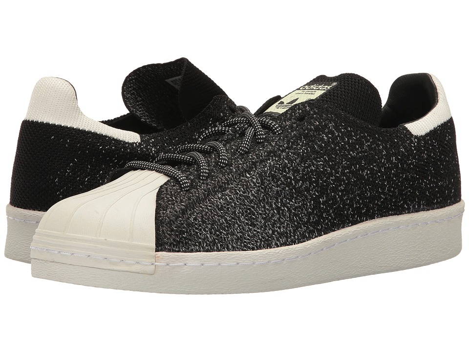 adidas Originals Superstar Retro 80s PrimeKnit (Black/White/White) Athletic Shoes