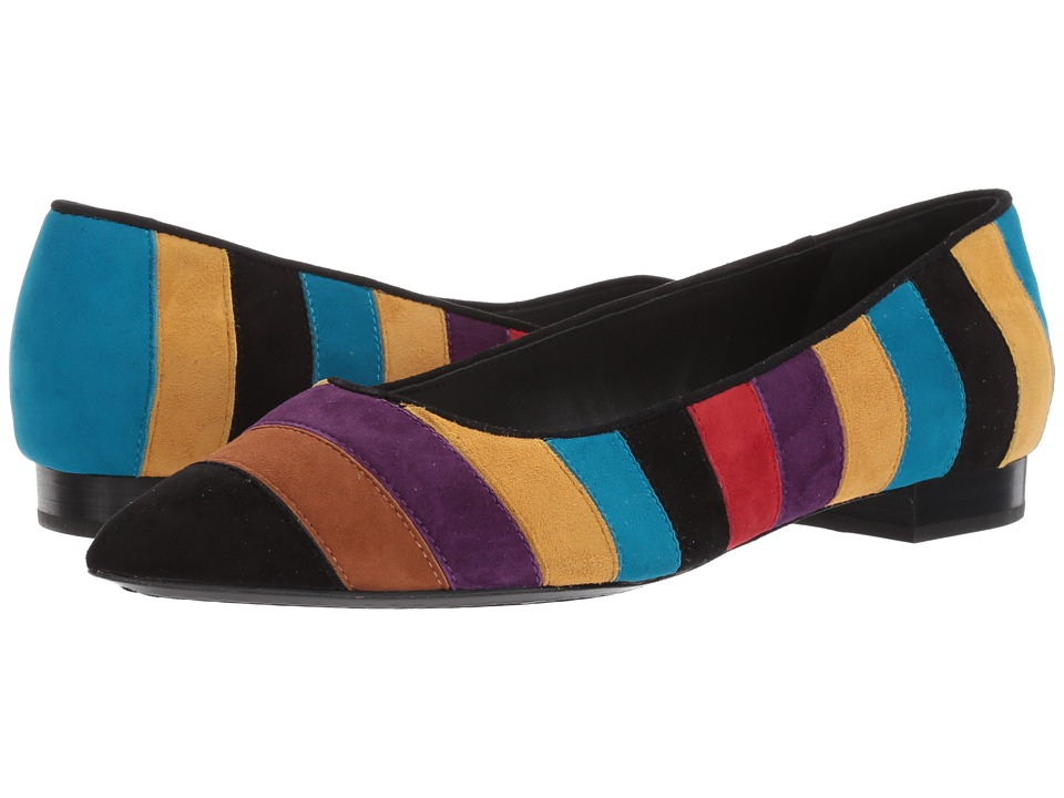 Alice + Olivia - Karen (Dark Turquoise Prime Suede) Women's Shoes