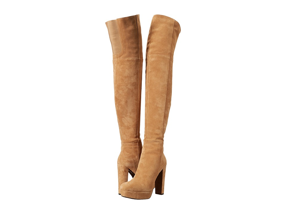 Alice + Olivia - Halle (Tan Crosta) Women's Boots