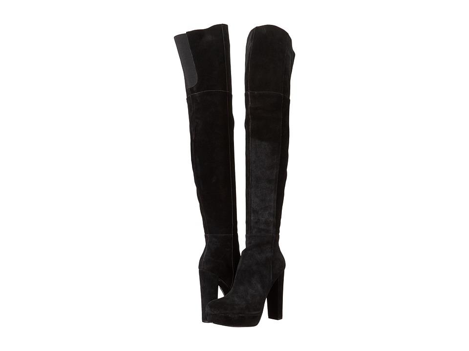 Alice + Olivia - Halle (Black Crosta) Women's Boots