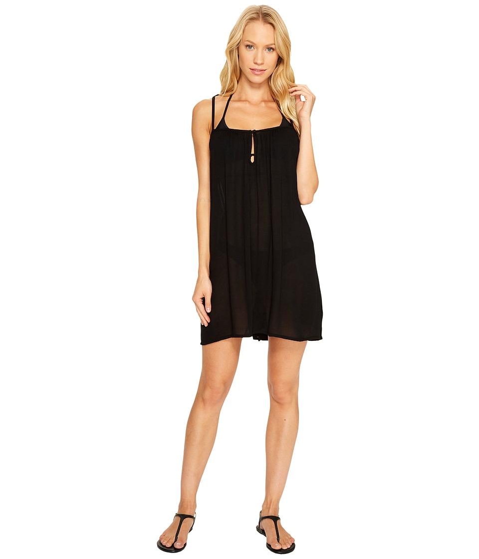 Billabong - Seven Seas Dress Cover-Up (Black) Women's Swimwear
