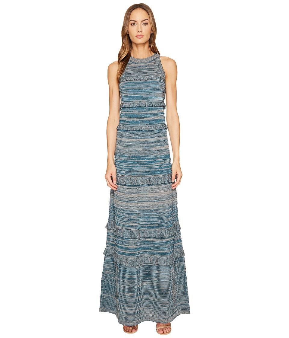 M Missoni Lurex Mouline Maxi Dress