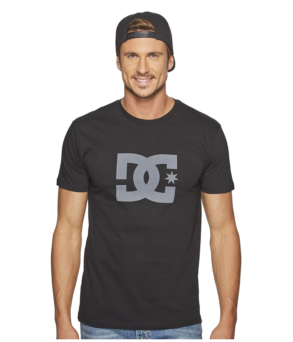 DC - Star S/S Tee (Black/Dark Shadow) Men's T Shirt