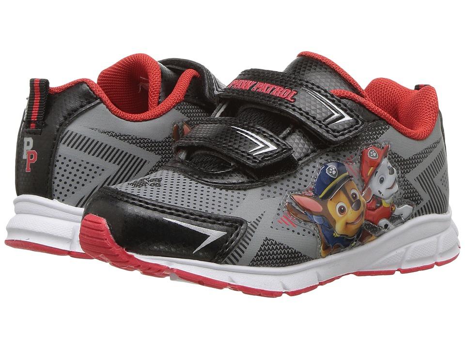 Josmo Kids Paw Patrol Sneakers (Toddler/Little Kid) (Grey/Black) Boy