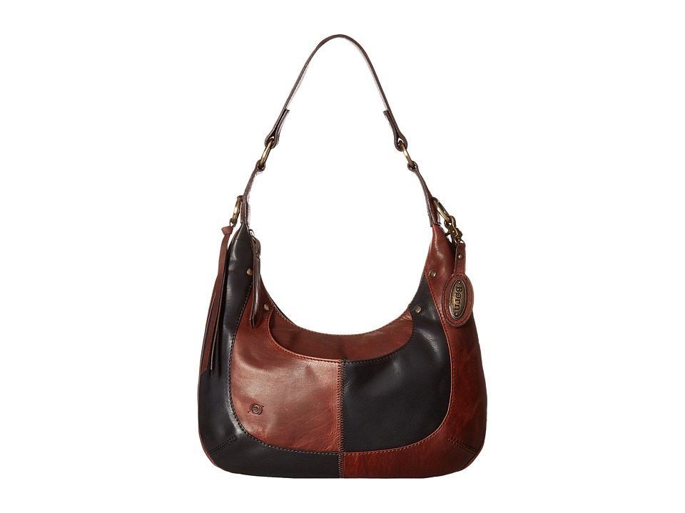 Born - San Marcos Bronco Hobo (Chocolate/Multi) Hobo Handbags
