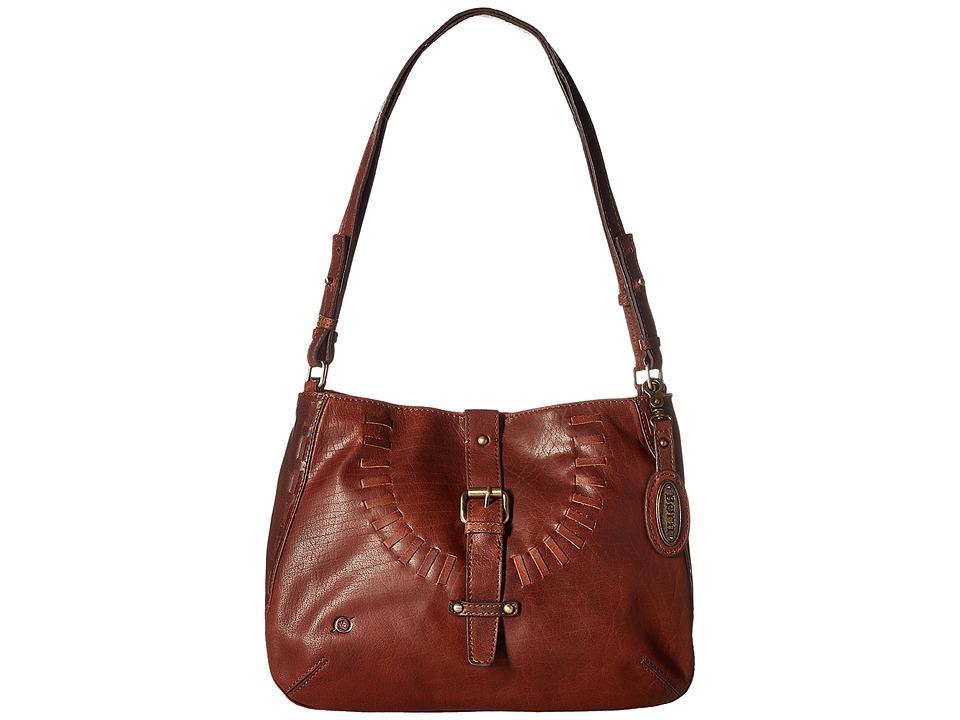 Born - Los Altos Bronco Hobo (Chestnut) Hobo Handbags