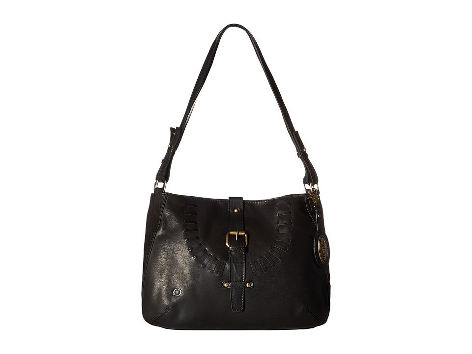 Born - Los Altos Bronco Hobo (Black) Hobo Handbags