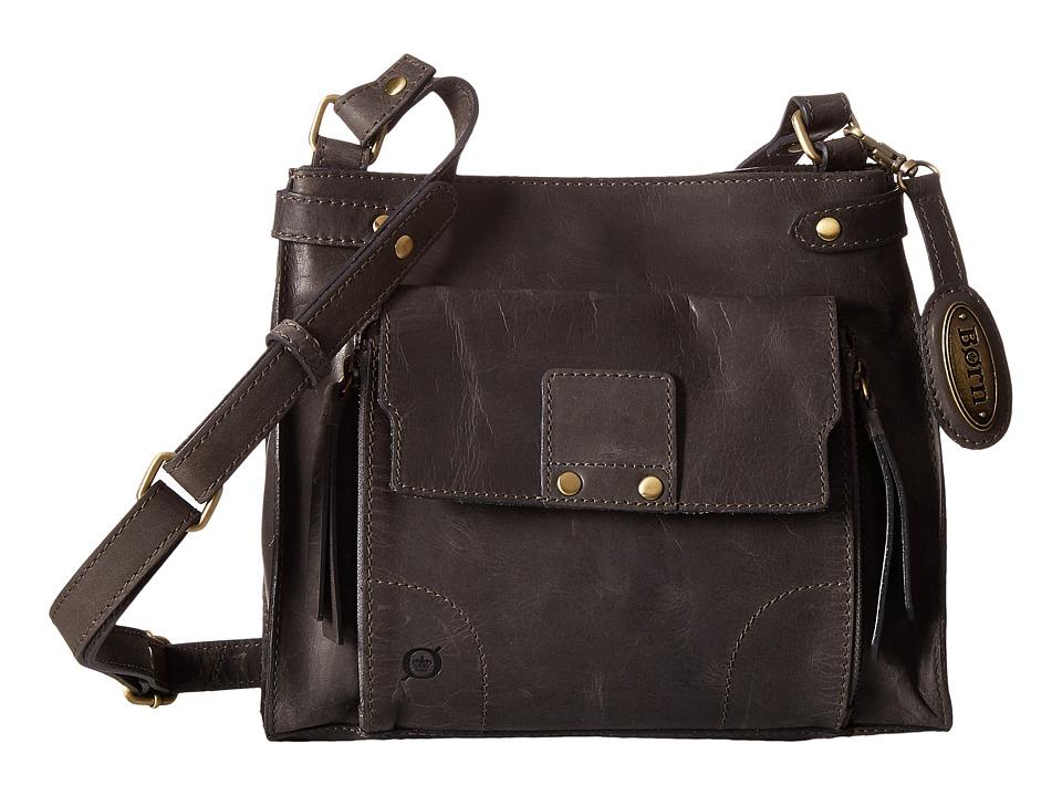 Born - Cerritos Bronco Crossbody (Charcoal) Cross Body Handbags