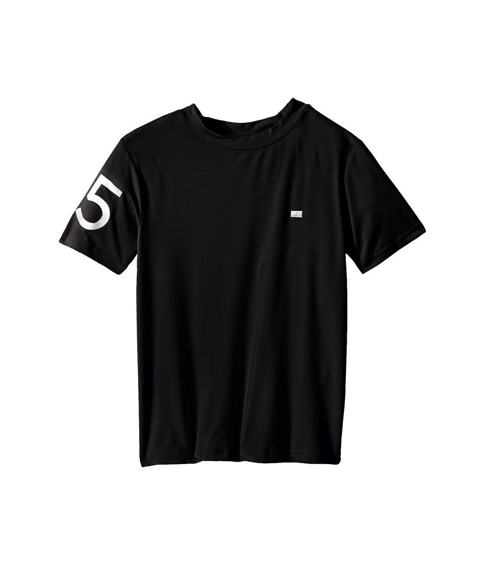 Tommy Hilfiger Kids - 85 Athletic Tee (Toddler/Little Kids) (Tommy Black) Boy's T Shirt