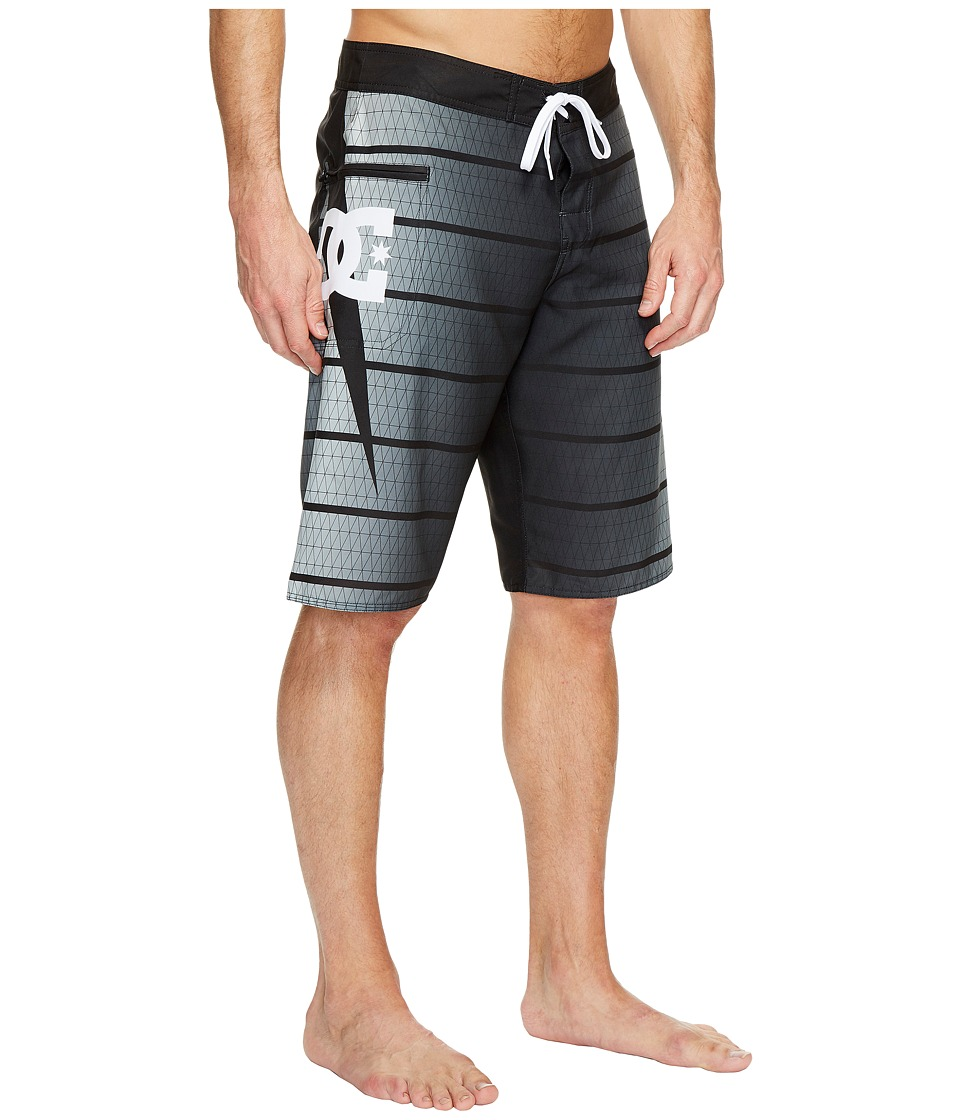 DC - Harrise 22 Boardshorts (Black) Men's Swimwear