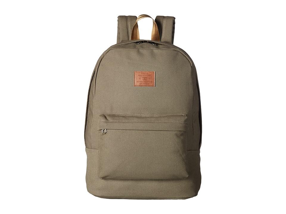 DC - Bunker Canvas (Dusky Green) Backpack Bags