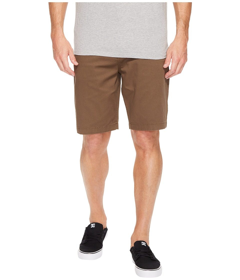 DC - Worker Straight 20.5 Short (Taupe) Men's Shorts
