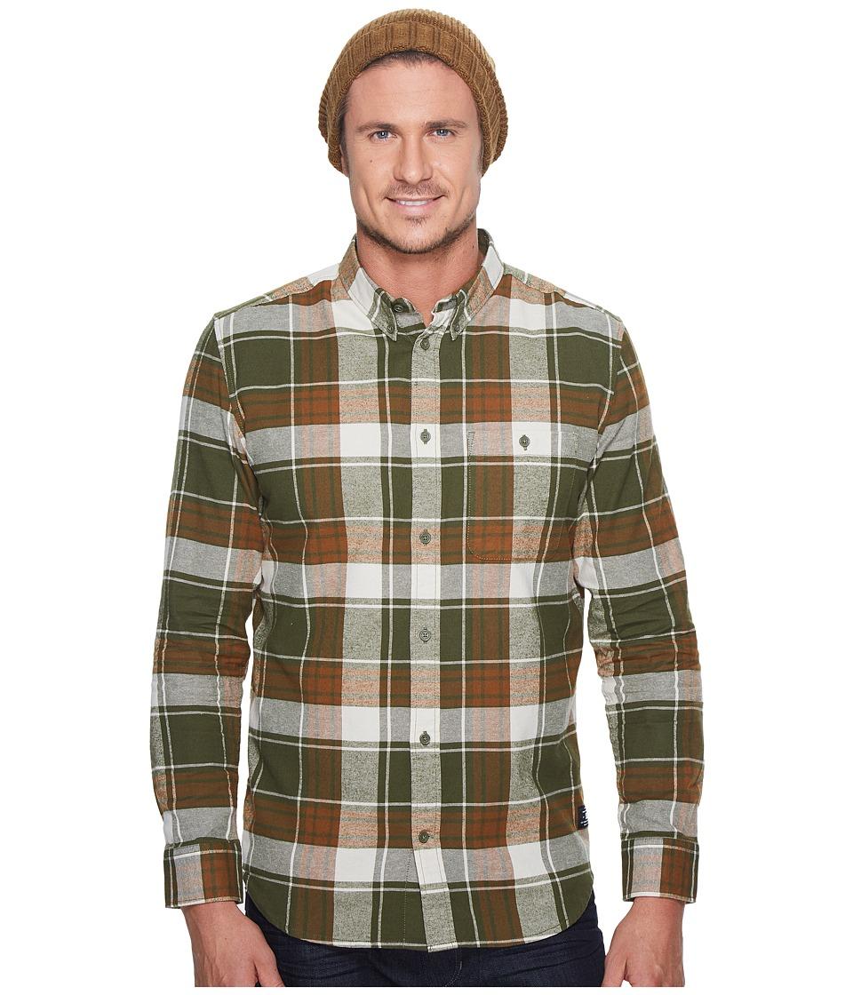 DC South Ferry Long Sleeve Shirt (Vintage Green) Men