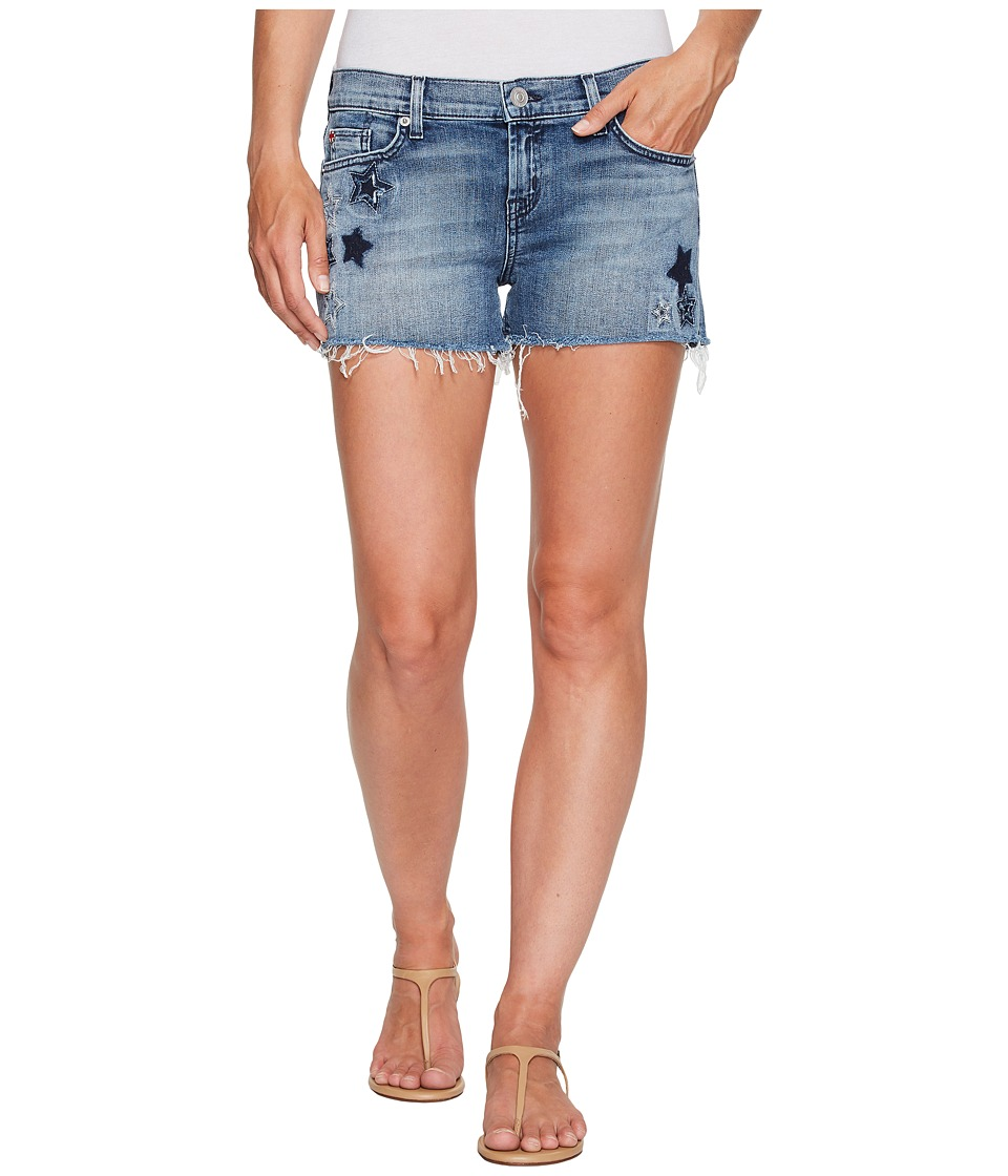 Hudson - Kali Cut Off Star Embroidered Shorts in Stargazing (Stargazing) Women's Shorts