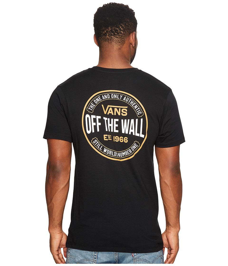 Vans - Ten Cents Tee (Black) Men's T Shirt