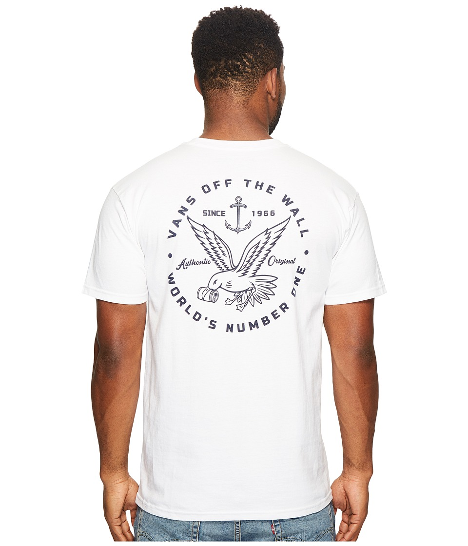 Vans - Animal Control Tee (White) Men's T Shirt
