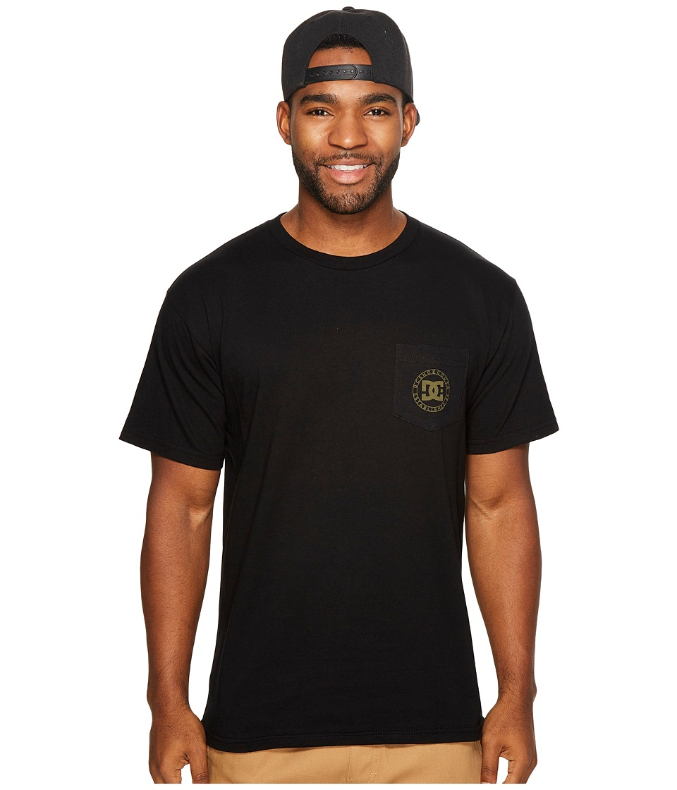 DC - Wheel Of Steelo Tee (Black) Men's Clothing