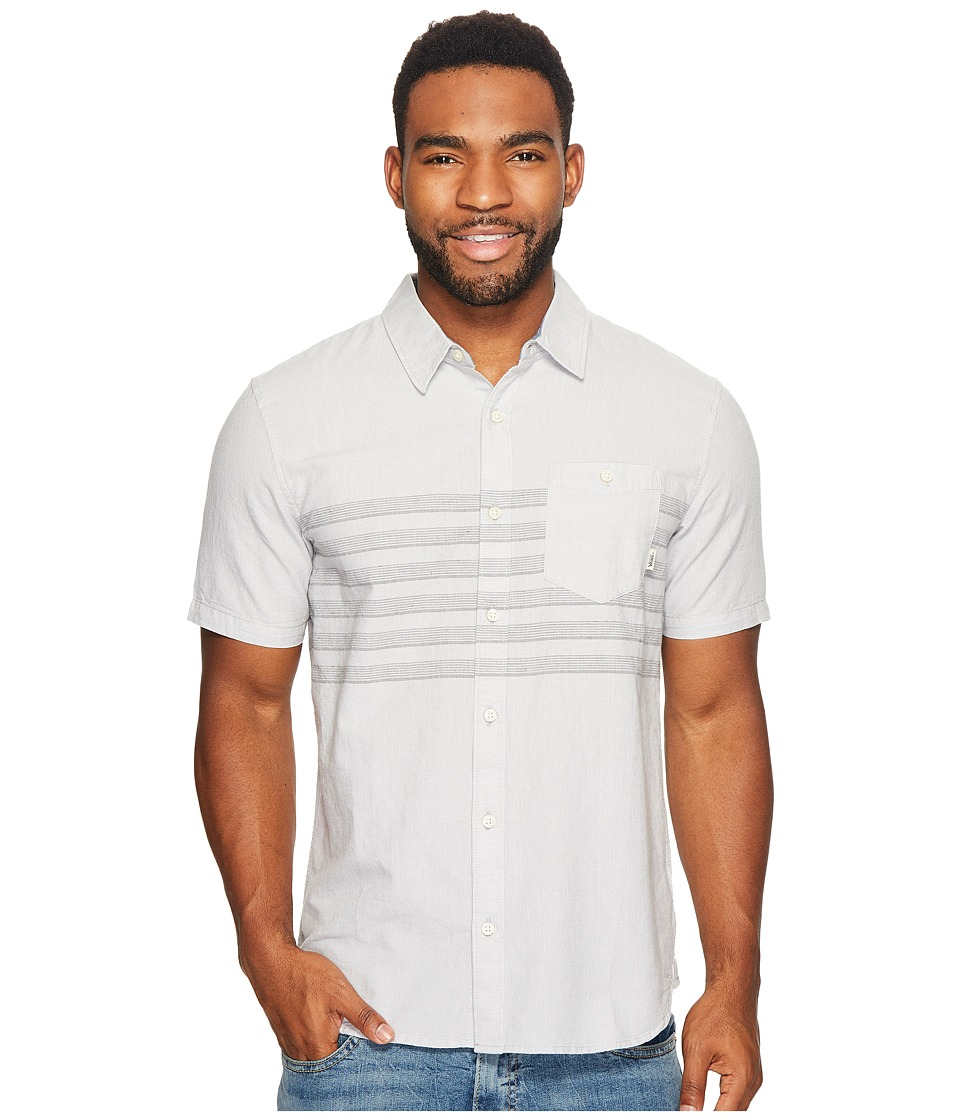 Vans - Wallace Short Sleeve Woven (Pebble) Men's Clothing