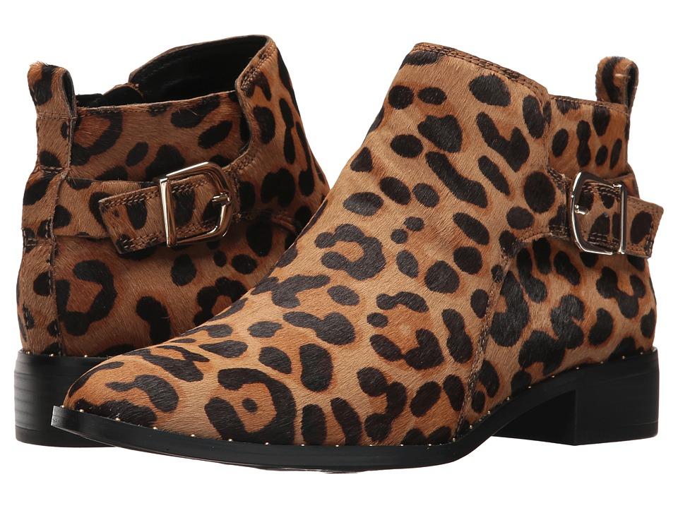 Steven Clio-L Bootie (Leopard) Women