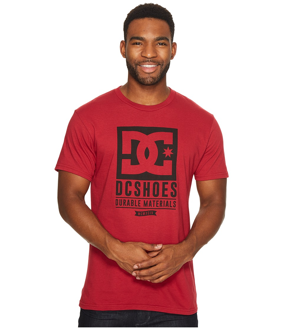 DC - Keep Rolling Tee (Rio Red) Men's Clothing