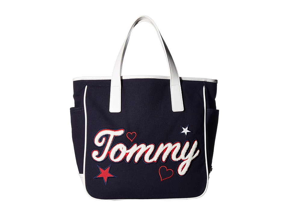 Tommy Hilfiger - Emily Tote (Tommy Navy) Tote Handbags