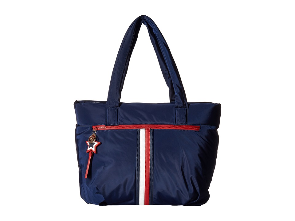 Tommy Hilfiger - Karina Tote Soft Nylon (Tommy Navy) Tote Handbags
