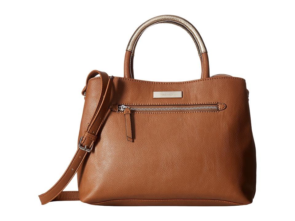 Nine West - Lucia (Tobacco/Metallic Platino) Handbags