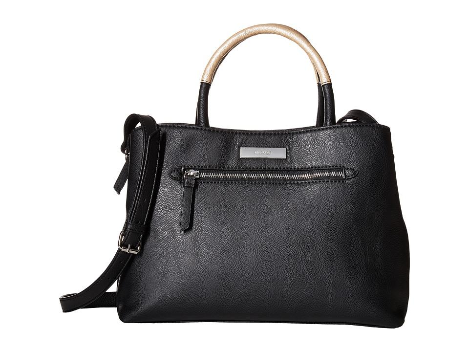 Nine West - Lucia (Black/Platino) Handbags