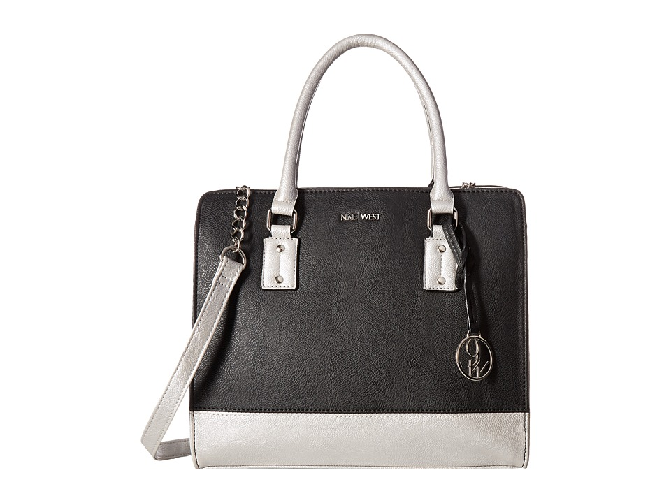 Nine West - You Me (Black/Silver) Handbags