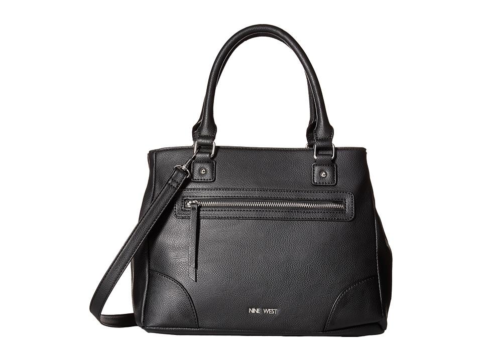 Nine West - Harmonize (Black/Black) Handbags