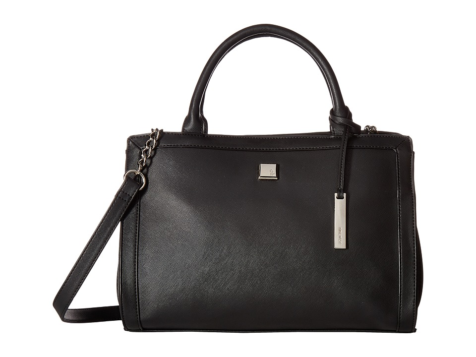 Nine West - Trend Bend (Black/Black) Handbags