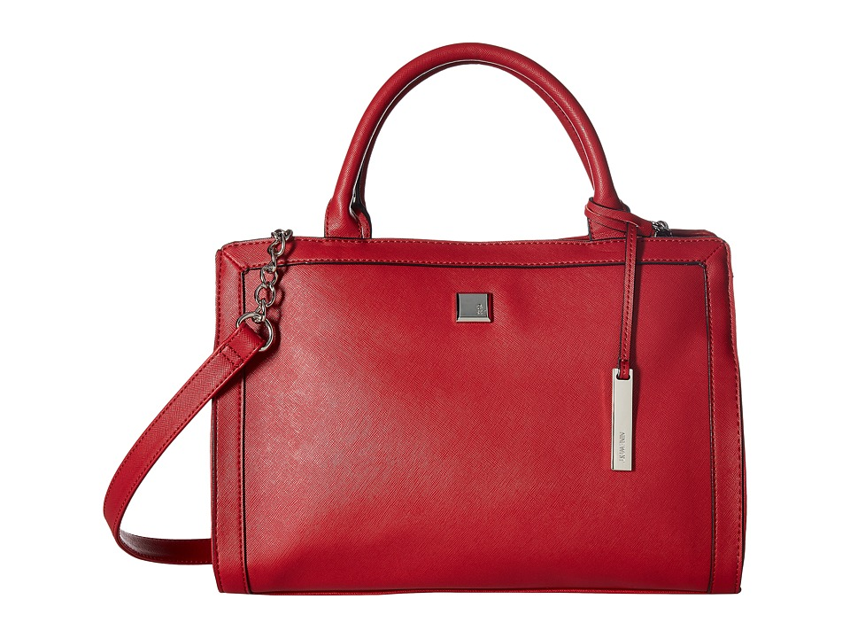 Nine West - Trend Bend (Ruby Red/Ruby Red) Handbags