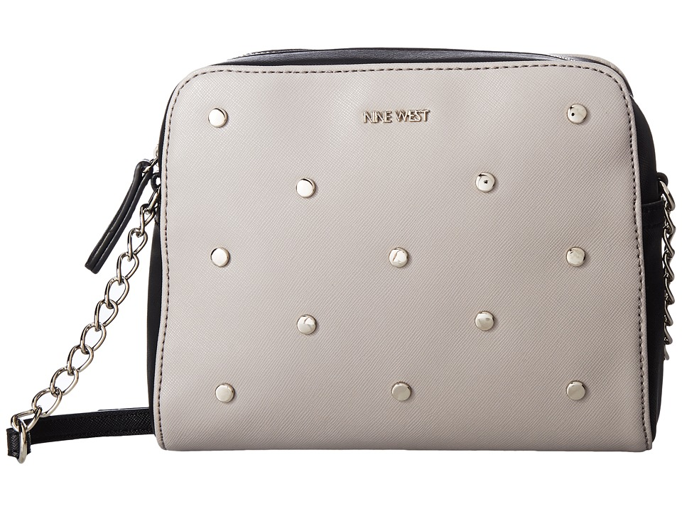 Nine West - Xandy (Dove/Black) Handbags
