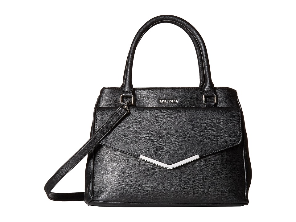 Nine West - Valine (Black/Black/Black) Handbags