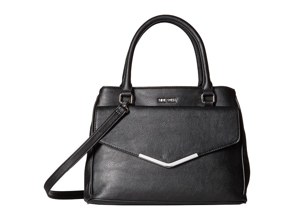Nine West - Valine (Black/Black/Black) Handbags