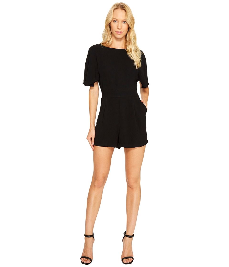 Adelyn Rae - Karen Romper (Black) Women's Jumpsuit & Rompers One Piece