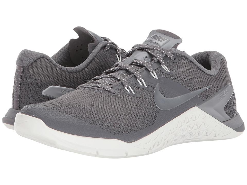 Nike Metcon 4 (Gunsmoke/Metallic Cool Grey/Summit White) Women